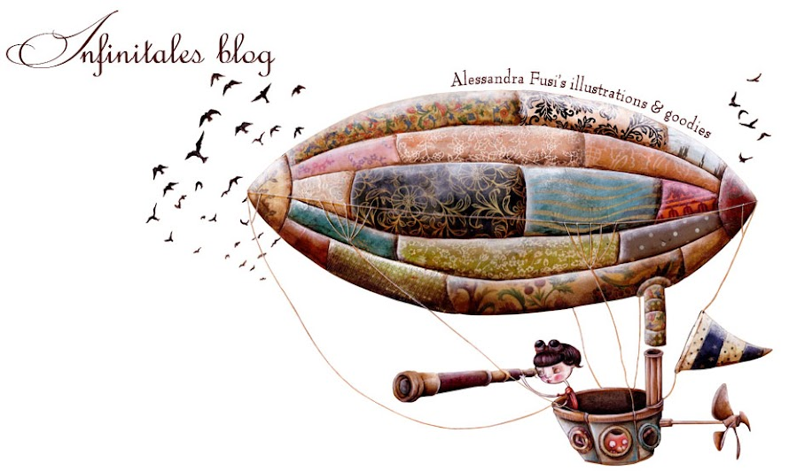 Alessandra Fusi's Infinitales: illustrations and goodies ♥