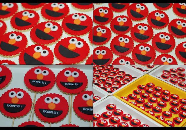 Lea Oven: Elmo Cookies Marathon
