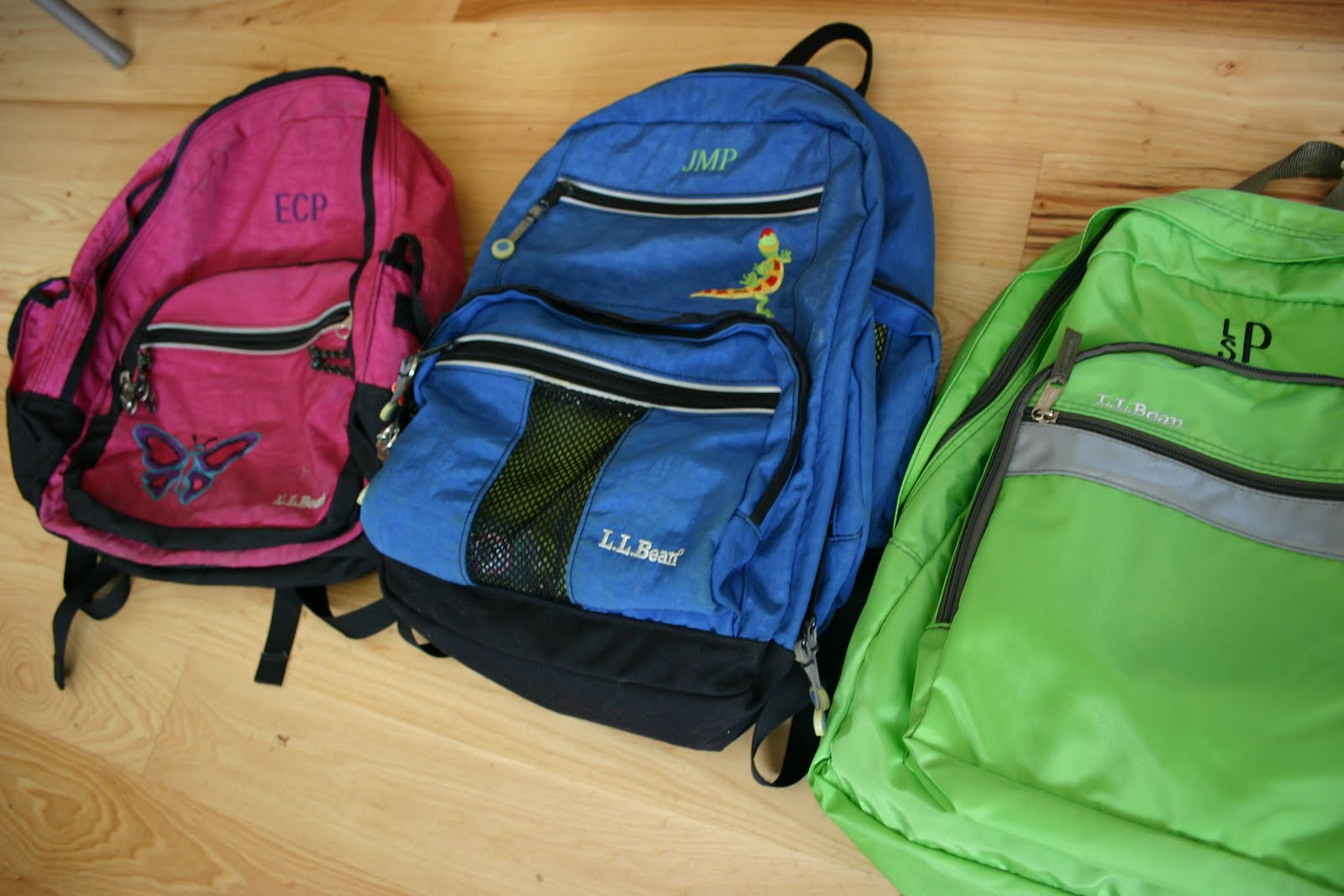 LL Bean Backpacks At Our House We Have A Little Tradition With You Get ONE When Enter Kindergarten And It Has To Last Through 6th Grade