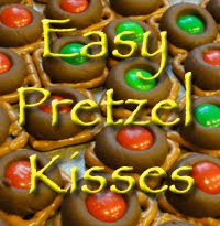 Easy Pretzel Kisses
