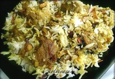 Which part of goat meat is best for biryani recipes