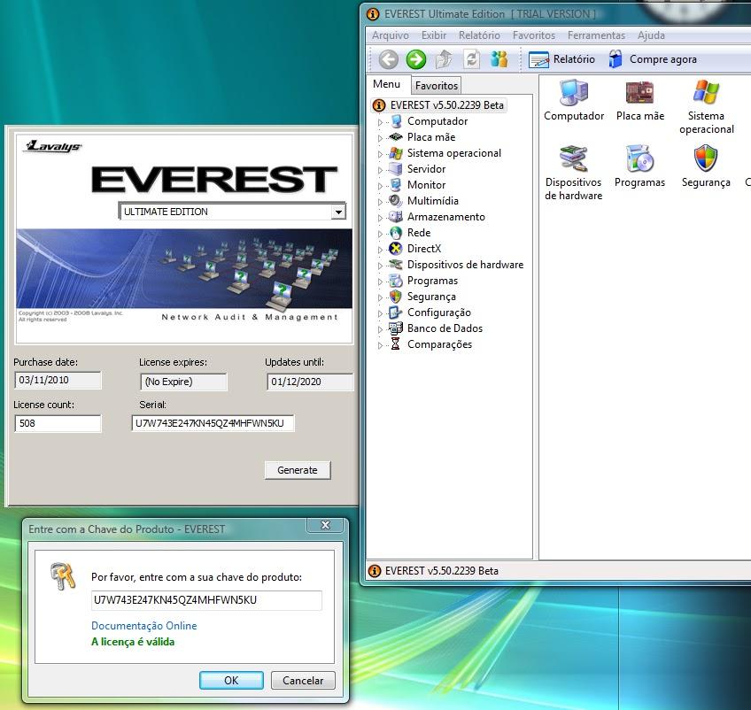 1 Build keygen 3 years ago Windows XP. . Download EVEREST Ultimate Edition
