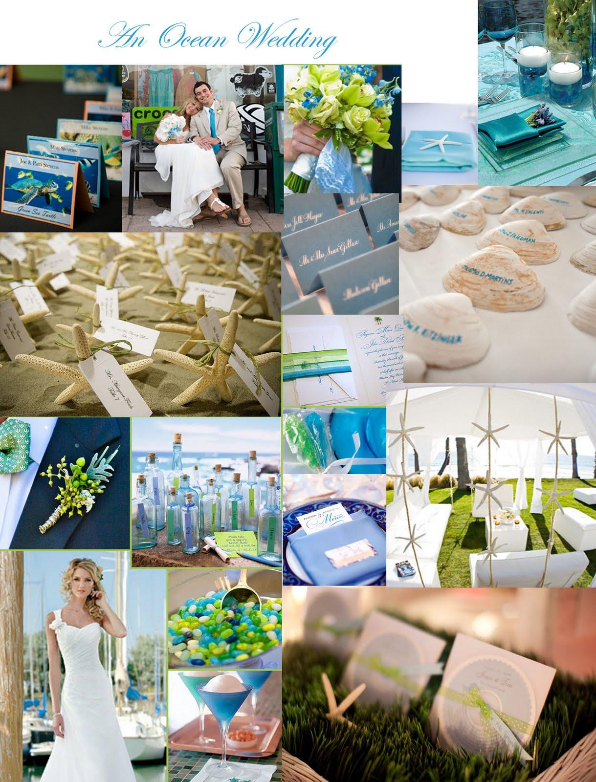 Ocean Wedding Decoration Ideas : Wedding decorations under the sea theme