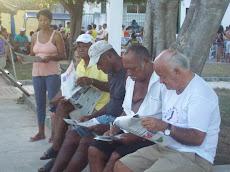Ilústres leitores do JP em MARAGOJIPE