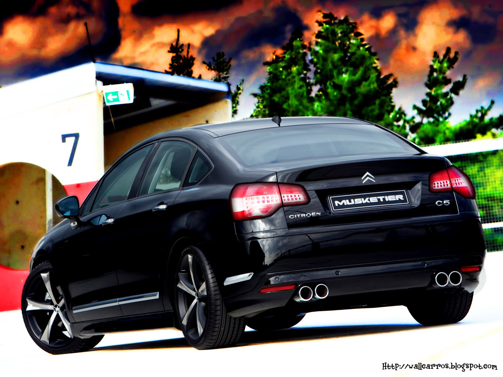 Citroen C5 Tuning Musketier