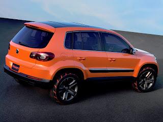 Volkswagen - Tiguan laranja