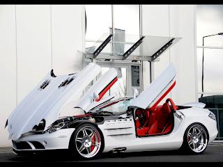 Mercedes Benz SLR Mclaren Brabus