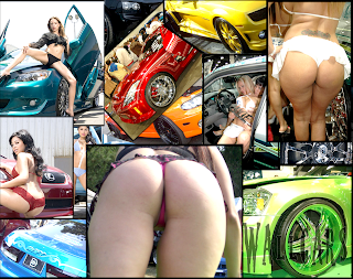 Pack Imagens Sey Girls And Cars Tuning Dub
