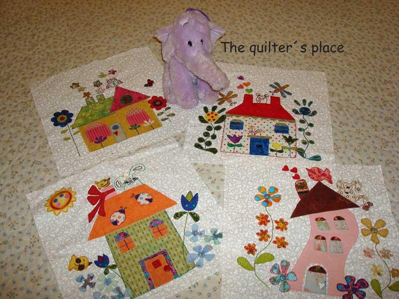 The quilter s place abril 2010 - Casas de patchwork ...
