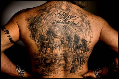 Man Back Tattoos
