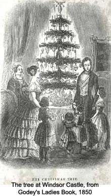Pilgrims and Pioneers: The History of the Victorian Christmas Tree