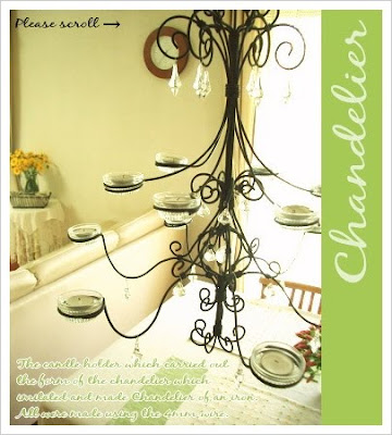 hanging candle chandelier - ShopWiki