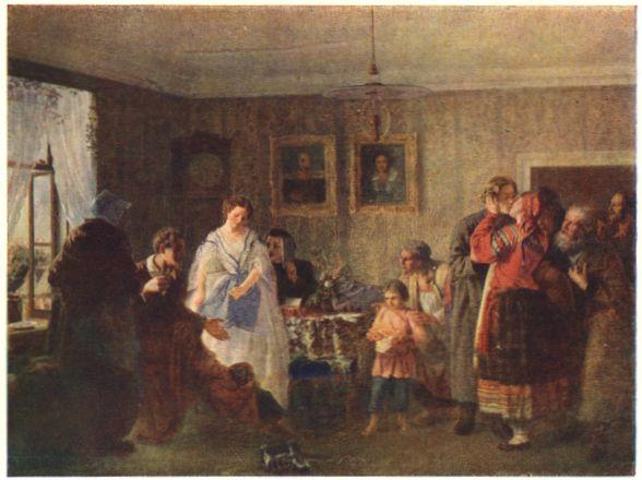 Мясоедов григорий григорьевич поздравление молодых в доме помещика фото 982