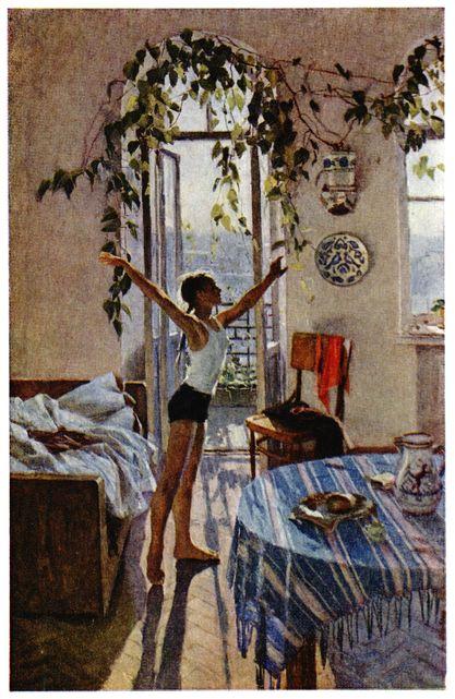 картины яблонской: