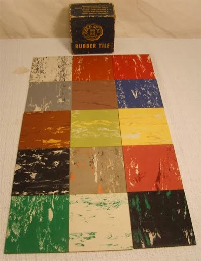 1950 S Atomic Ranch House 1950 S Linoelum Tiles