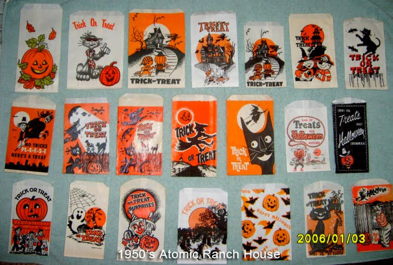 remember the thrill of getting one of these while Trick or Treating ... Vintage Trick Or Treaters