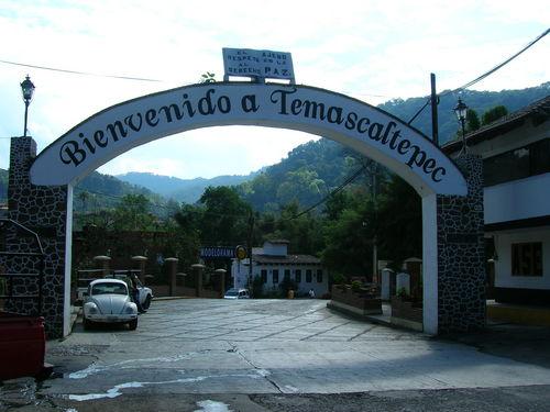 Entrada a Temascaltepec