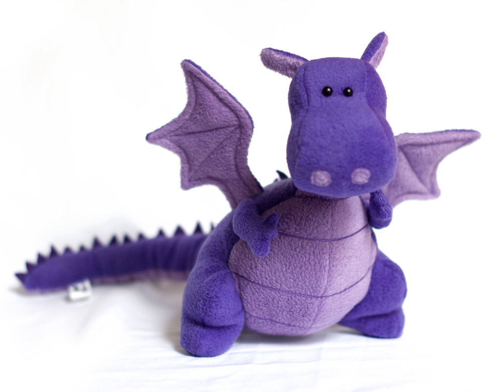 Toy Patterns By Diy Fluffies Plush Dragons