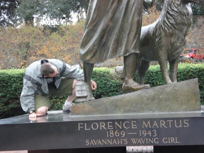 Waving Girl of Savannah
