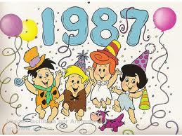 1987 el año de los pequeños Picapiedra