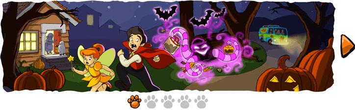 Primera Imagen de la tira de Scooby Doo que publico para Halloween