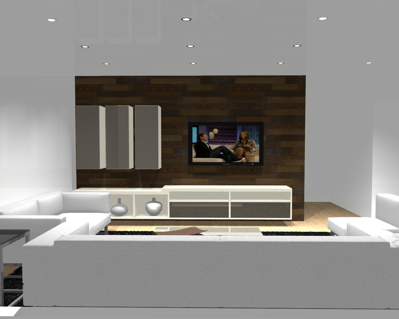 Sala De Estar Jantar E Home Theater ~ de uma sala de estar home theater integrado com a sala de jantar