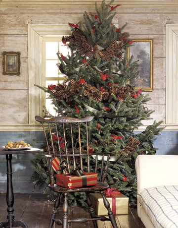 the chicer antiquer christmas trees. Black Bedroom Furniture Sets. Home Design Ideas