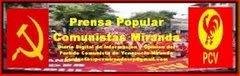 PRENSA POPULAR COMUNISTAS MIRANDA