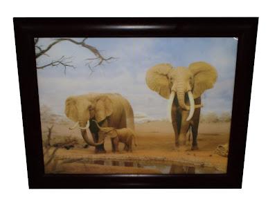 Elefántos kép Erzsitől
