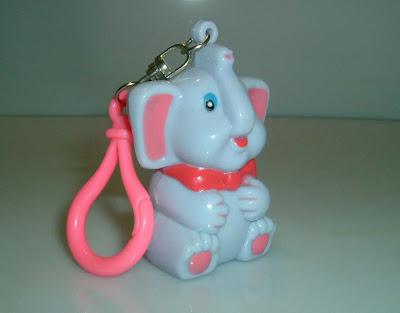 Elefántos kulcstartó