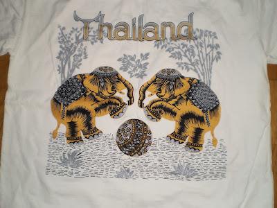 Thaiföldről elefántos póló