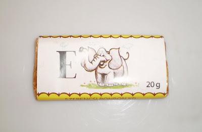 Elefántos csokoládé illetve csokipapír