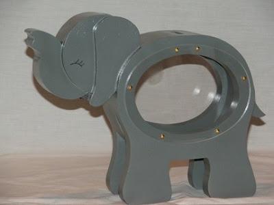 Elefántos persely