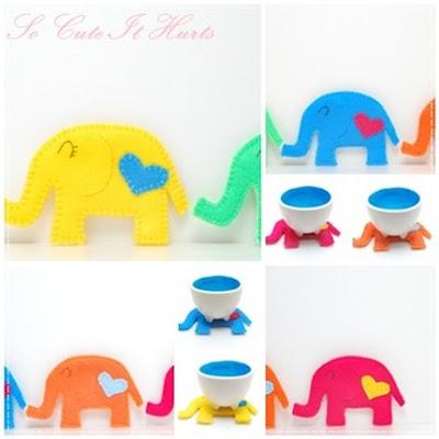 Elefántos poháralátétek