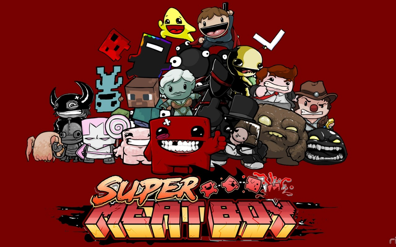 Super Meat Boy Ultimate +saves+soundtrack+wallpaper+guia