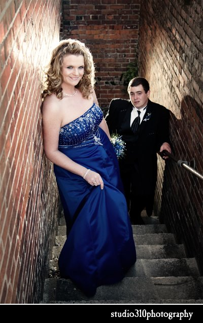 high school prom photography at studio 310 in north carolina