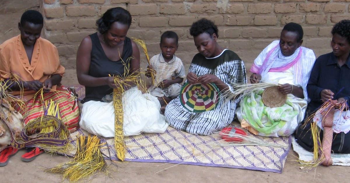 Basket Weaving Groups : Children s sure house okwegatta gemanyi basket weaving group