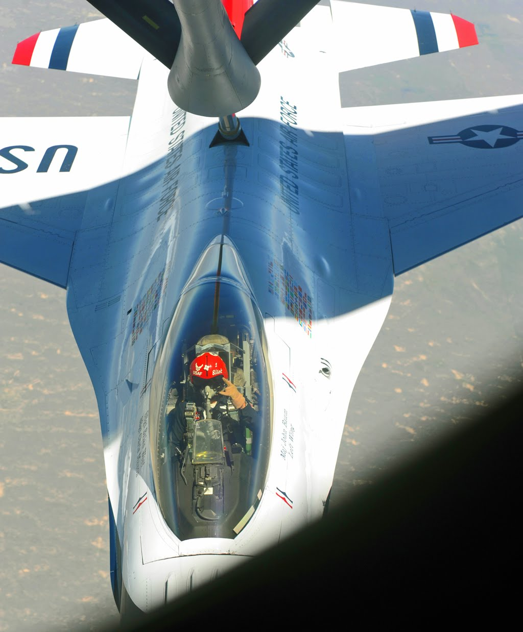 to fly with Thunderbirds