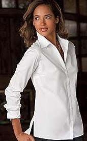 womens wrinkle free tall shirts