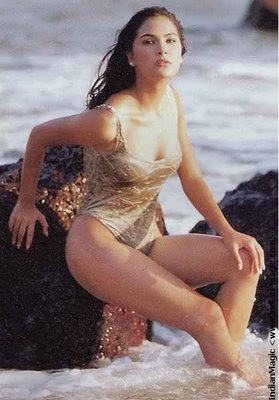 hot actress lara dutta sexy in wet photos