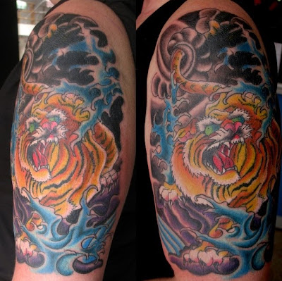 tiger tattoo art. Tiger Tattoo Art
