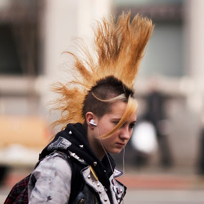 Mohawk Hairstyle, haircuts Crazy Punk Mohawk Hairstyles For Men