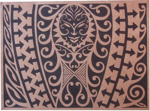 Tribal Hawaiian Tattoo | Ancient Hawaiians Tattoos