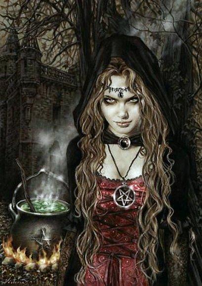 Mortales: Brujas  Bruja