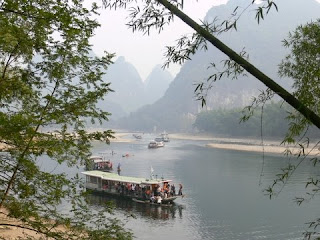 bateau riviere Li