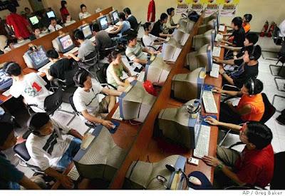 cafe internet Chine
