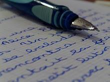 Le stylo plume d'Angelo...