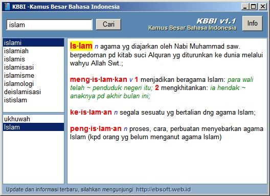 bahasa indonesia dictionary free download