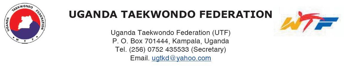 UGANDA TAEKWONDO FEDERATION
