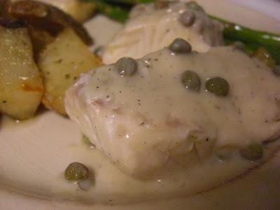 poached halibut recipe